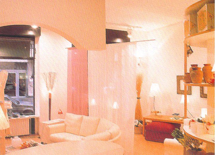 Negozio green arredamenti studio di architettura e for Borgonovo arredamenti